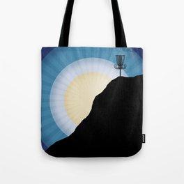 Basket On A Mountain Tote Bag