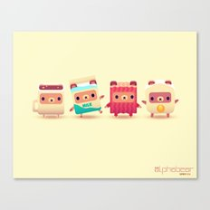 ALPHABEAR - Breakfast Bears Canvas Print