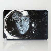 ripley iPad Cases featuring No one can hear you scream in space by Clayton Young