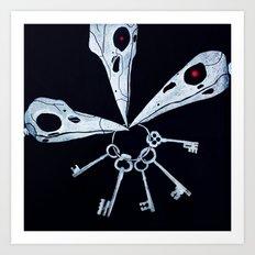 5 Keys Secret Art Print