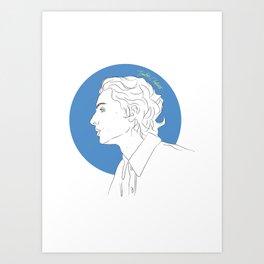 Call Me By Your Name (Timothée Chalamet) Art Print