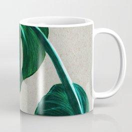 monsteras - coloured pencils Coffee Mug