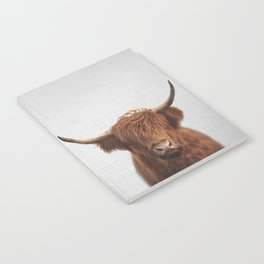 Highland Cow - Colorful Notebook