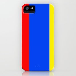 Primary Colors iPhone Case