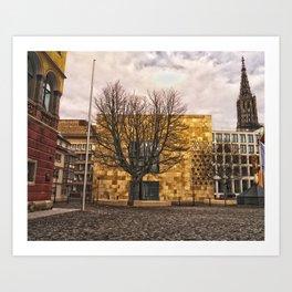 Architecture in Ulm Art Print