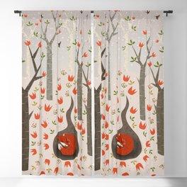 Sleeping Fox Blackout Curtain