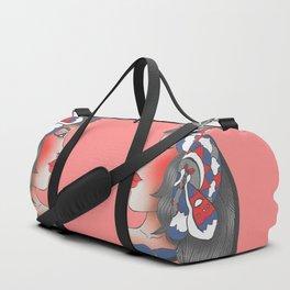 Moth Pendant Girl Duffle Bag