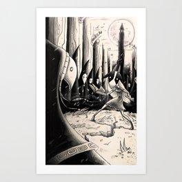 A Test of Faith Art Print