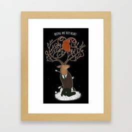 bring me her heart Framed Art Print