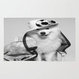 Samoyed URUS WILSON OF BLOOM WHITE Rug