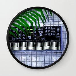 Synth Pool Wall Clock