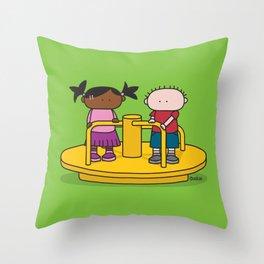 Playground  XL Throw Pillow