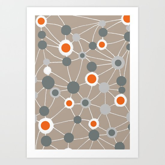 connect Art Print