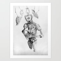 Automa III Art Print