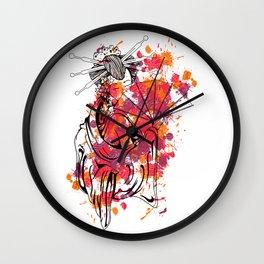 Secrets of the Geisha - Beautiful Chinese Girl Wall Clock