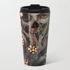 Orange Bird Metal Travel Mug