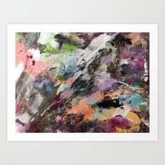 Painted Lady Art Print