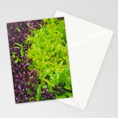 Green Waves Stationery Cards