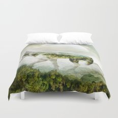 WOLF MOUNTAIN Duvet Cover