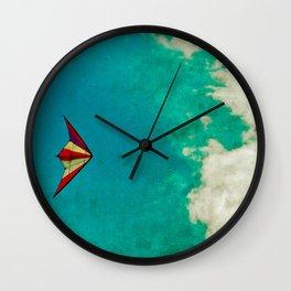Kite-tastic Wall Clock