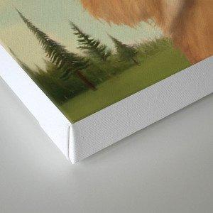 Bastet, Cat Deity - patron of the forest & animals Canvas Print
