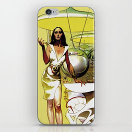 Space mother iPhone Skin