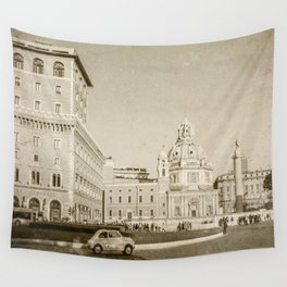 Eternal City (Plaza Venezia) Wall Tapestry