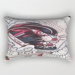 Cut Here Rectangular Pillow