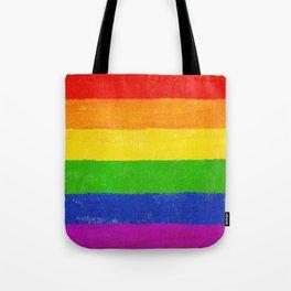 Gay Pride Flag LGBQT Tote Bag