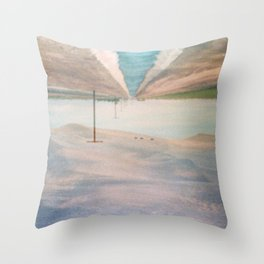 MM 205 . Sand Dunes x Country Road Throw Pillow