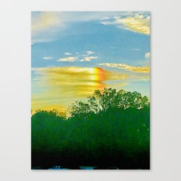 Aether Canvas Print