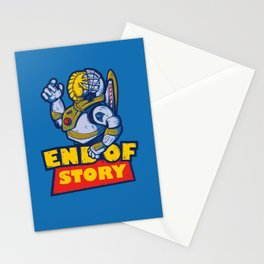 END OF STORY Stationery Cards