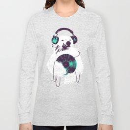 Record Bear Long Sleeve T-shirt