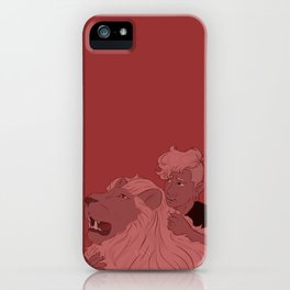 Pink Lars iPhone Case