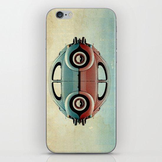 4 speed Bug iPhone & iPod Skin