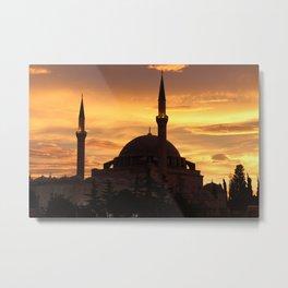 Yavuz Selim Mosque , Istanbul/TURKEY Metal Print