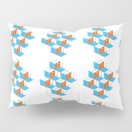 Musical repeating pattern No.3, Collection No.1 Pillow Sham