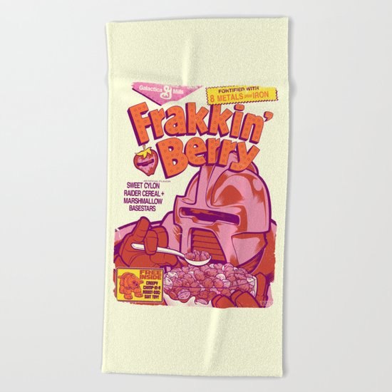 FRAKKIN' BERRY Beach Towel