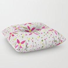 Petals and Joy Floor Pillow