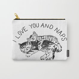 Kittens naps Carry-All Pouch