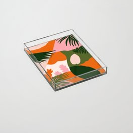 Tropical Island Acrylic Tray