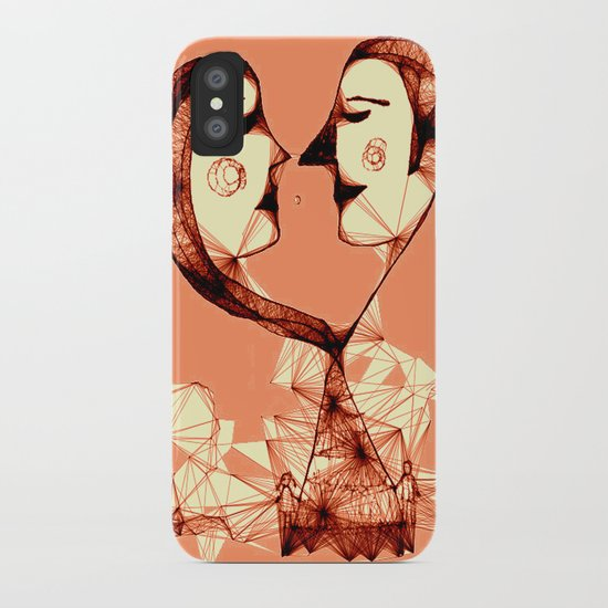 web of love iPhone Case