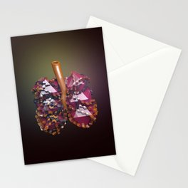 Lungs Stationery Cards