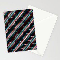 Diagonal Grid Stationery Cards