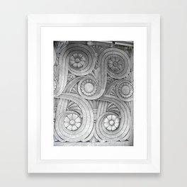 Limestone Garden Framed Art Print