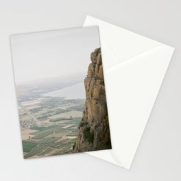 Mt. Arbel and the Sea of Galilee - Holy Land Fine Art Film Photography Stationery Cards