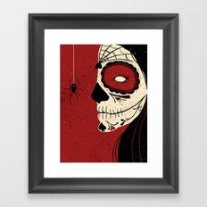 Viuda Negra  Framed Art Print