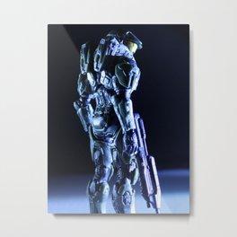 Profilin' Metal Print