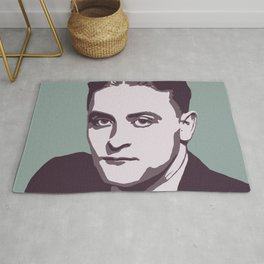 F. Scott Fitzgerald Rug