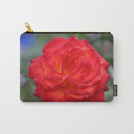 Dew Drops on a Rose Carry-All Pouch